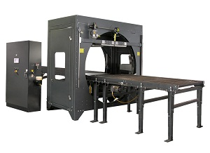 door stretch wrapping machine