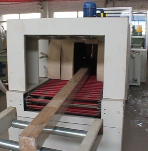 Automatic wooden lumber packing machinery