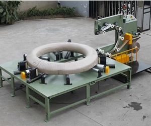 Упаковочная машина для проводки в рулонах GW2500 Упаковочная машина для проводки в рулонах