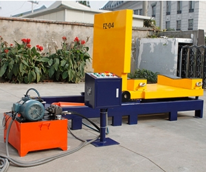 Гидравлический кантователь для рулонных материалов Гидравлический кантователь для рул