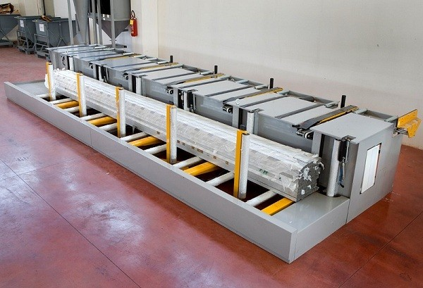 aluminum bundle packaging line