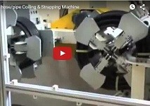 automatic pipe coiling machine