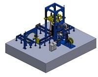 Wire coil compactor and packing line