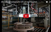 automatic coil packing machine line