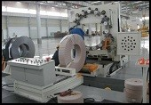 metal coil packing machine