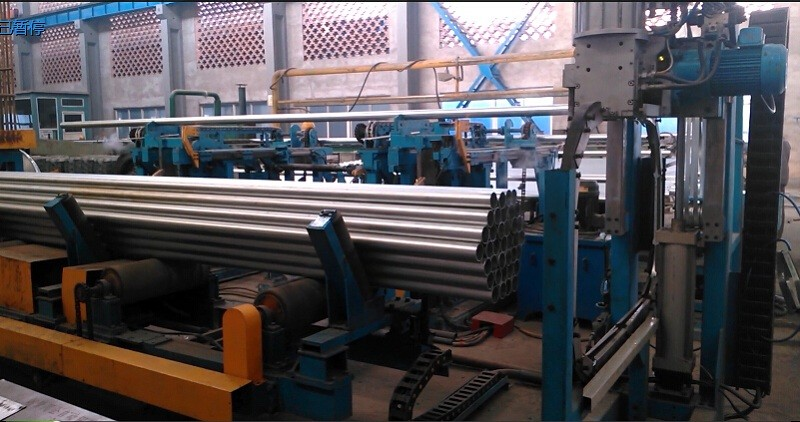 steel tube packaging line