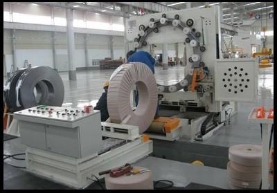 自动钢带(钢卷/钢圈/铜卷/铜盘/铝卷/铝带)包装解决方案