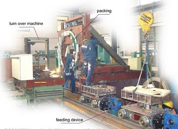 mateal coil packaging line