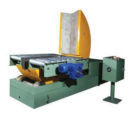 on follor mould tilter with conveyor