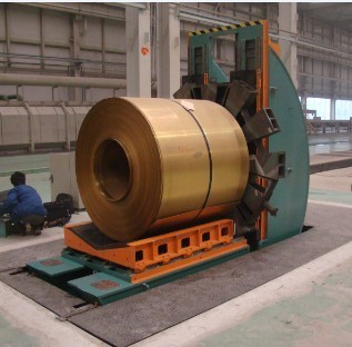 hydraulic steel coil upender for sale