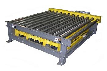 conveyor of orbital wrap machine