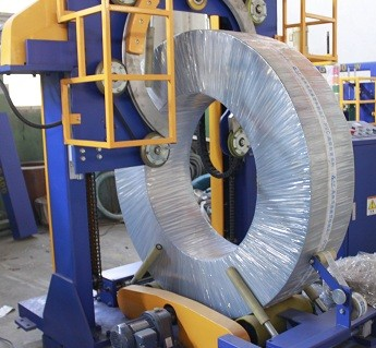 coil packaging machine