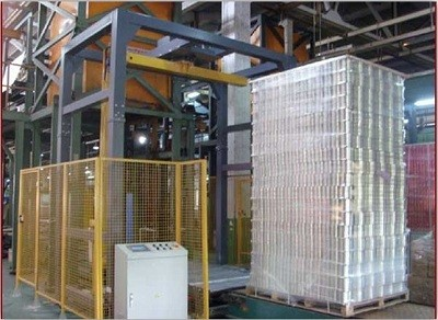 metal wrapping machine