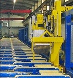 aluminum packing line