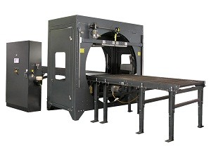 plastic stretch wrap machine