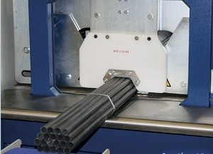 Automatic palstic pipe packaging line