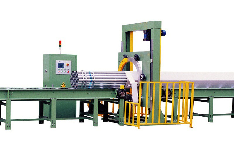 motor horizontal orbital wrapping machine