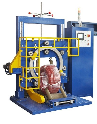 sandwish panel orbital stretch film machine