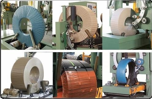 steel,hose,wire,coil wrapping machine