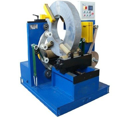 steel coil wrapping machine