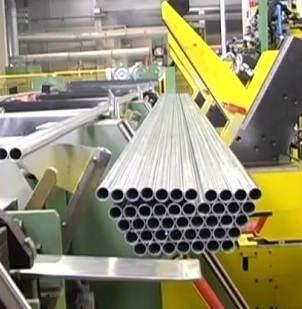 steel Tube packing machine