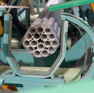 automatic pipe bundling machine