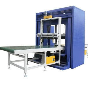 pipe Spiral stretch wrapping machine