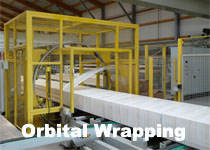Orbital stretch wrapper solution