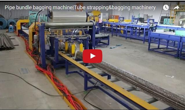 Linea automatica de ensacado para tuberia PPR / PVC
