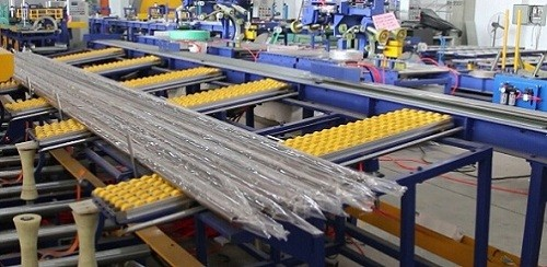 stainless steel tube packing machine