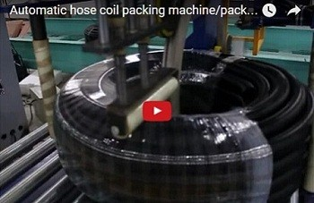 wooden profile spiral packing machine