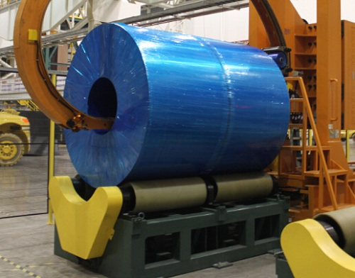 VCI stretch film for aluminum coil