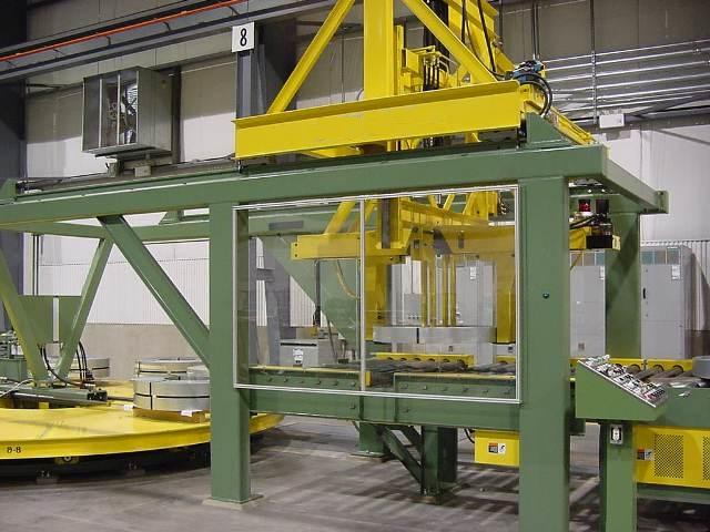 自动钢卷包装线,钢卷堆垛机