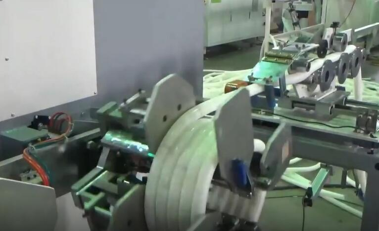 AUTOMATIC CD pipe coiler