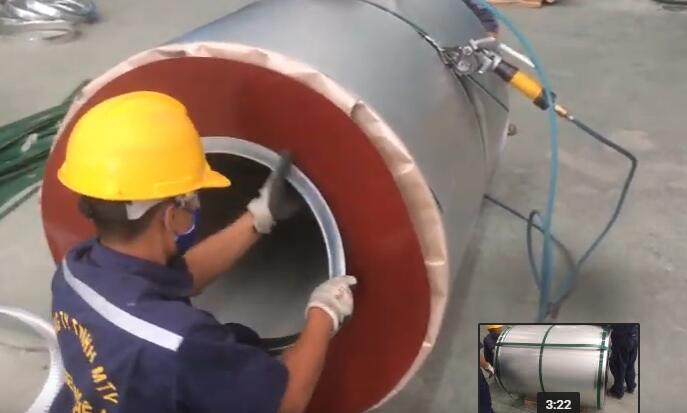 coil packing line