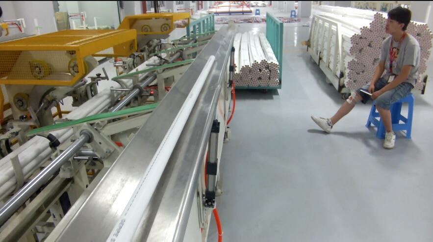 automaitc pipe bundle packing machine