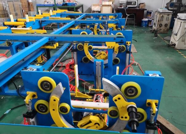 aluminum strapping machine by wrapping station