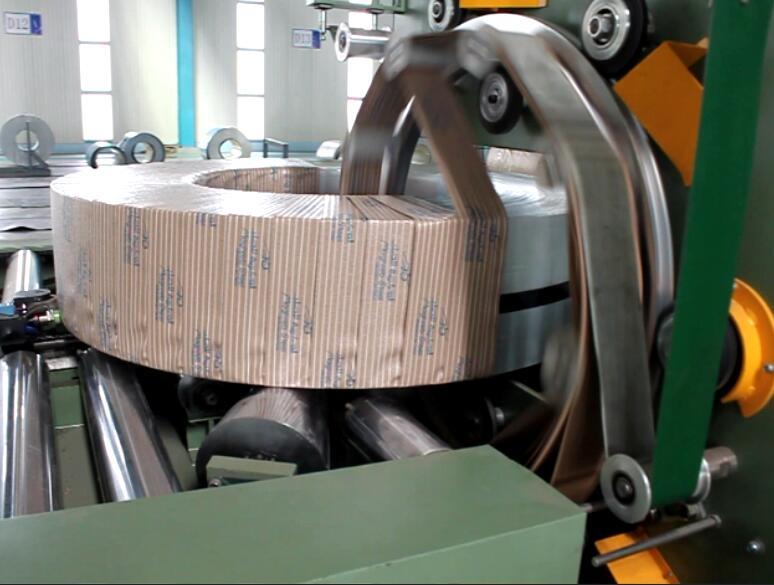coil shrink wrap machine
