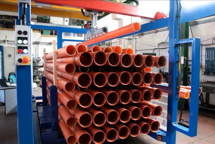 socket pipe stacking machine