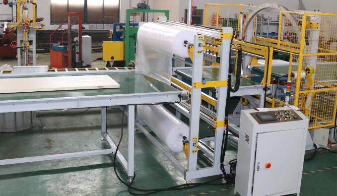 bubble film wrapping machine
