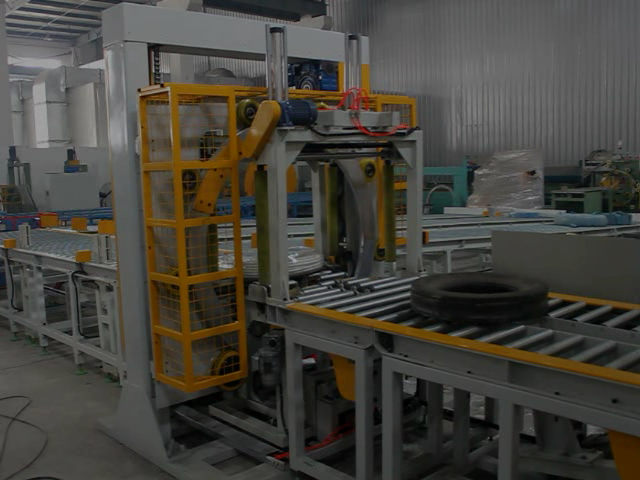 tyre packing line