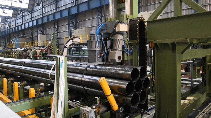 steel tube bundle strapping line