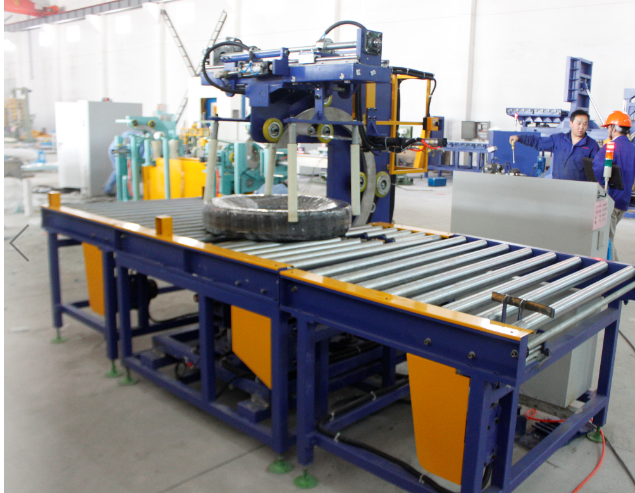 Automatic Tire Packaging Line