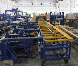 automatic profile packing line