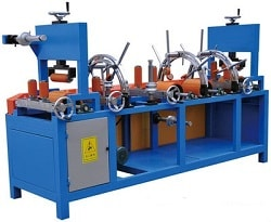 Automatic profile tapping machine