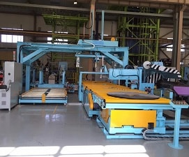 Slit coil handling and packaging line