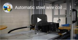 auto hose coiler and strapping machine video