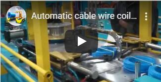 cable coiling and one side strapping packing