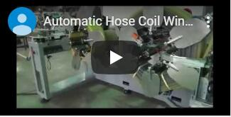 auto coiler and strapping packing video