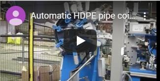 pipe coiling packing video
